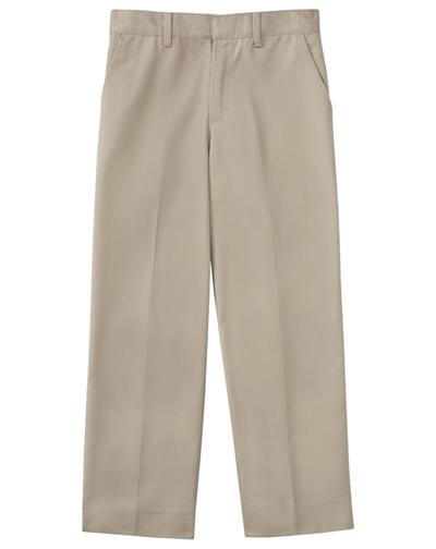 Classroom Uniforms Classroom Boy's Boys Slim Adj. Waist Flat Front Pant Khaki