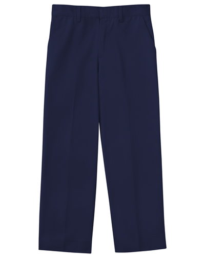 Classroom Boy\'s Boys Adj. Waist Flat Front Pant Blue