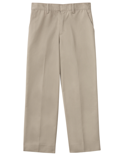 "Classroom Men's Men's Tall Flat Front Pant 34"" Inseam Khaki"
