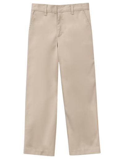 Classroom Uniforms Classroom Preschool Preschool Unisex Flat Front Pant Khaki