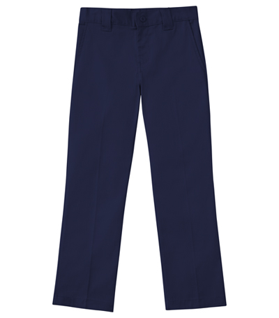 Classroom Boy's Boys Husky Stretch Narrow Leg Pant Blue