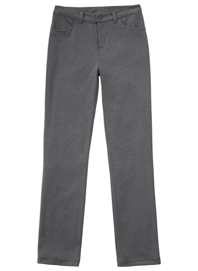 Classroom Junior Juniors Ponte Tapered Leg Pant Gray