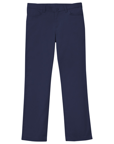 Classroom Girl's Girls Adj. Stretch Matchstick Leg Pant Blue