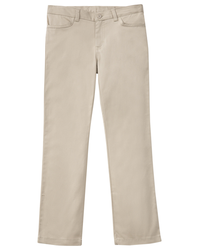 Classroom Girl's Girls Plus Stretch Matchstick Leg Pant Khaki