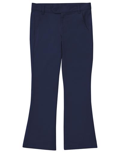 Classroom Junior's Jr Stretch Moderate Flare Leg Pant Blue