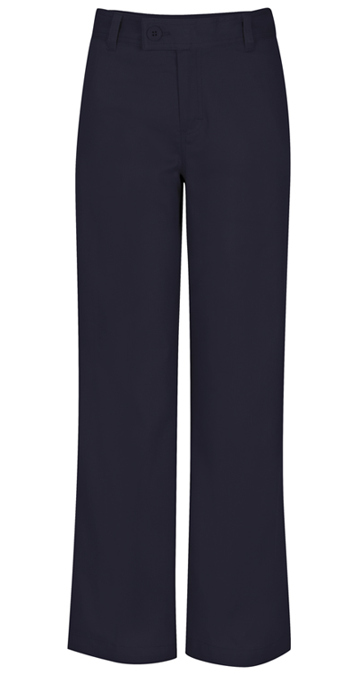 Classroom Uniforms Classroom Girl's Girls Adj. Waist Stretch Trouser Blue
