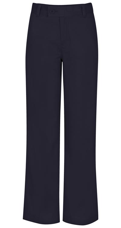 Classroom Girl's Girls Adj. Waist Stretch Trouser Blue