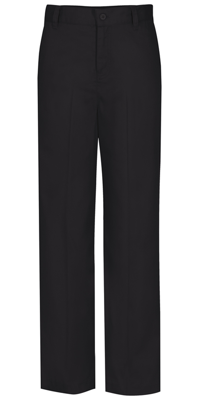 Classroom Uniforms Classroom Girl's Girls Flat Front Trouser Pant Black