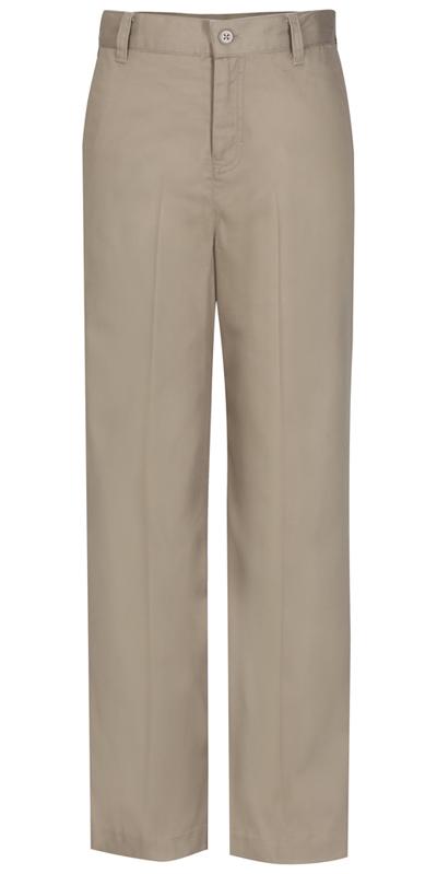 Classroom Junior's Juniors Flat Front Trouser Pant Khaki