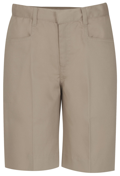 Classroom Uniforms Classroom Junior's Juniors Low Rise Bermuda Short Khaki