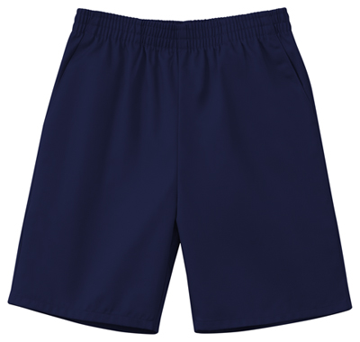 Classroom Child's Unisex Unisex Husky Pull-On Short Blue