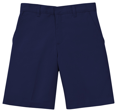 Classroom Boy's Boys Slim Adj. Waist Flat Front Short Blue