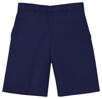 Classroom Uniforms Classroom Boy's Boys Husky Flat Front Short Blue