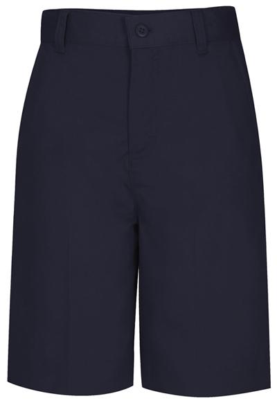 Classroom Girl's Girls Flat Front Bermuda Short Blue