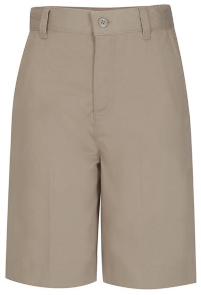 Classroom Girl's Girls Plus Flat Front Bermuda Short Khaki