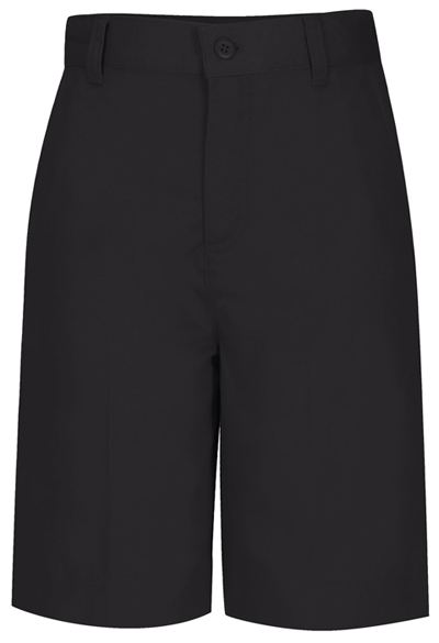 Classroom Junior's Juniors Flat Front Bermuda Short Black