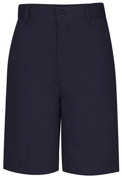 Classroom Junior's Juniors Flat Front Bermuda Short Blue