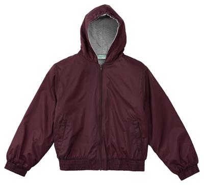 Classroom Uniforms Classroom Unisex Adult Unisex Zip Front Bomber Jacket Purple
