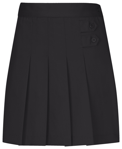 Classroom Girl\'s Girls Plus Pleated Tab Scooter Black
