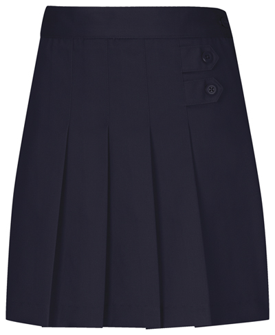 Classroom Uniforms Classroom Girl's Girls Plus Pleated Tab Scooter Blue