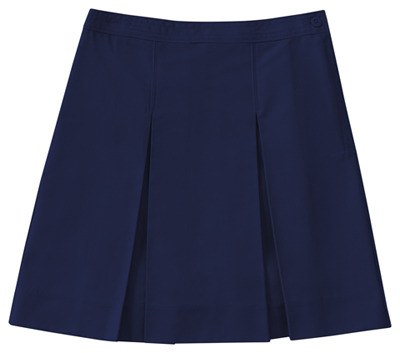 Classroom Uniforms Classroom Junior's Juniors Kick Pleat Skirt Blue