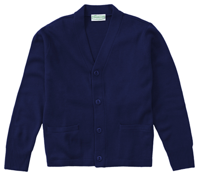 Classroom Preschool Toddler Unisex Cardigan Blue