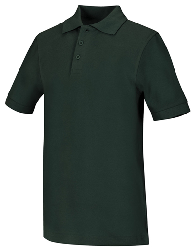 Classroom Uniforms Classroom Unisex Adult Unisex Short Sleeve Pique Polo Green