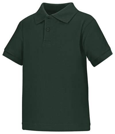 Classroom Uniforms Classroom Preschool Preschool Unisex SS Interlock Polo Green