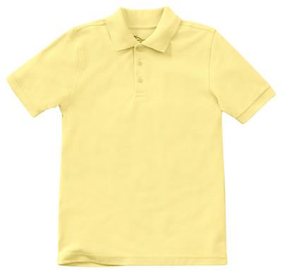 Classroom Preschool Preschool Unisex SS Pique Polo Yellow
