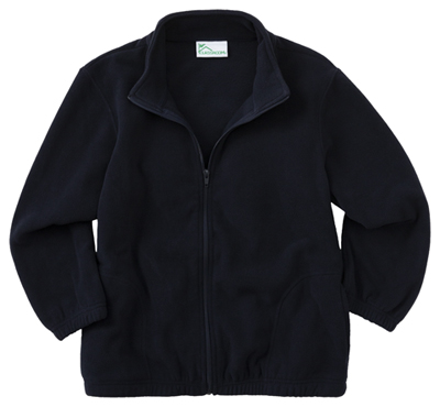 Classroom Preschool Toddler Zip Front Jacket Blue