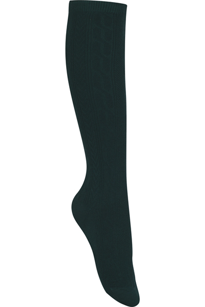 Classroom Girl's Girls/Juniors Cable Knee Hi Socks 3 PK Green