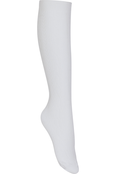 Classroom Girl's Girls/Juniors Cable Knee Hi Socks 3 PK White