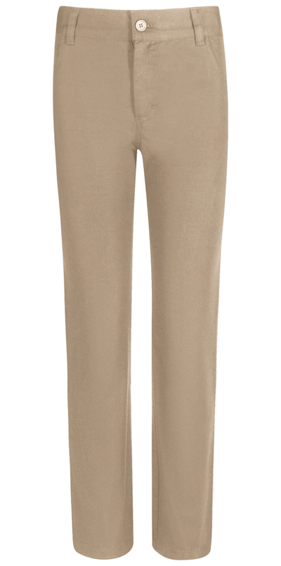 Real School Uniforms Boy's REAL SCHOOL Boys Stretch Skinny Pant Khaki