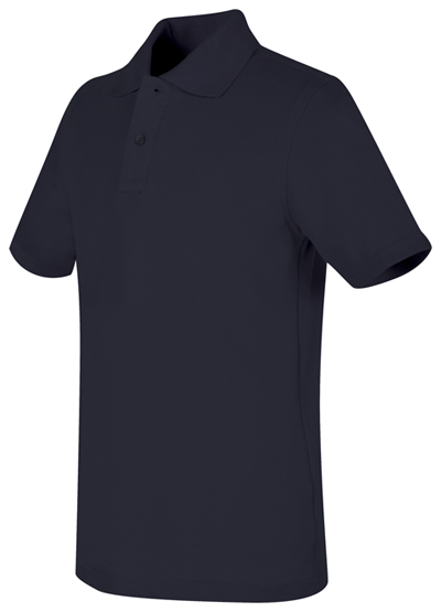 Real School Uniforms Child's Unisex Real School Youth Unisex S/s Pique Polo Navy