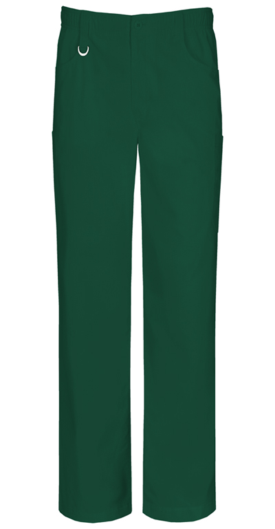 EDS Signature Stretch Men Men's Zip Fly Pull-on Pant Green