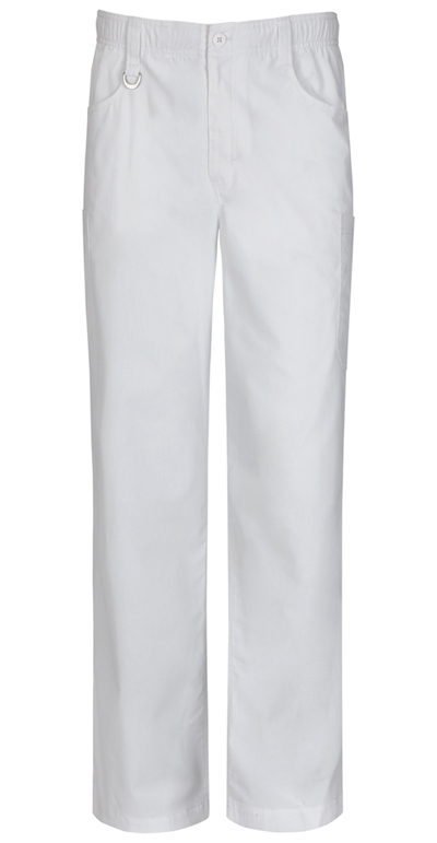 EDS Signature Stretch Men Men's Zip Fly Pull-on Pant White