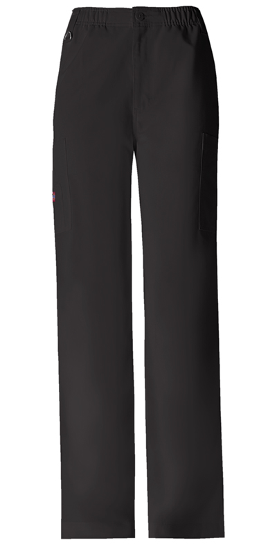 Dickies Xtreme Stretch Men's Men's Zip Fly Pull-On Pant Black