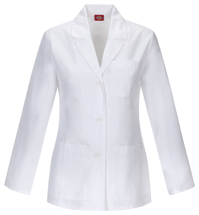 Dickies Prof. Whites Women's 28 Lab Coat White