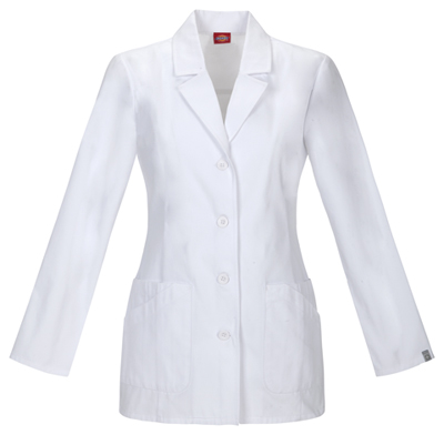 Dickies Prof. Whites Women's 29 Lab Coat White