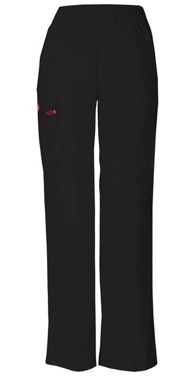 Dickies EDS Signature Women's Natural Rise Tapered Leg Pull-On Pant Black