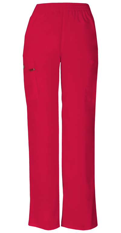 Dickies EDS Signature Women's Natural Rise Tapered Leg Pull-On Pant Red
