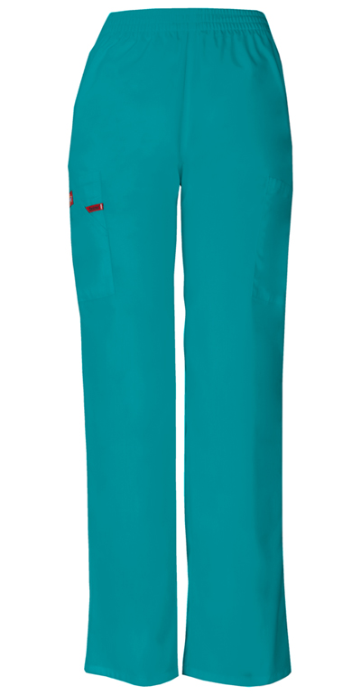 Teal Blue Dickies Scrubs EDS Signature Natural Rise Pull On Pants 86106 TLWZ