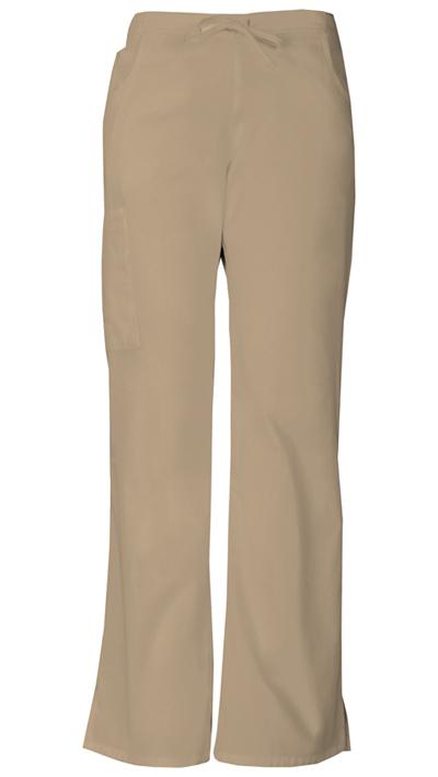 Dickies EDS Signature Women's Mid Rise Drawstring Cargo Pant Khaki