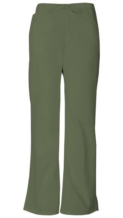 Dickies EDS Signature Women's Mid Rise Drawstring Cargo Pant Green