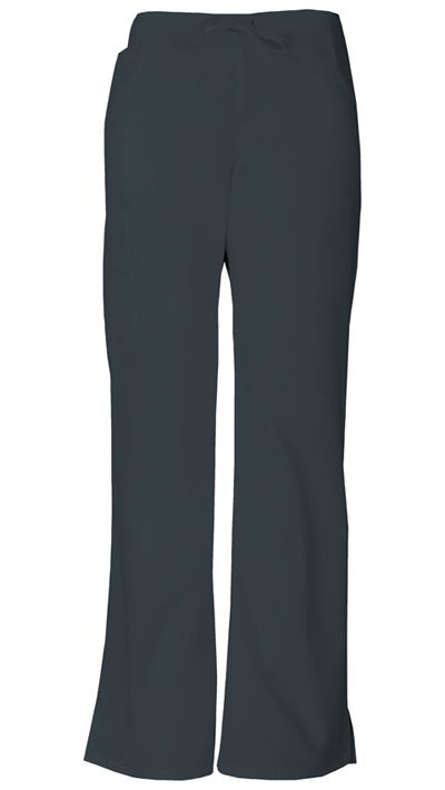 Dickies EDS Signature Women's Mid Rise Drawstring Cargo Pant Gray