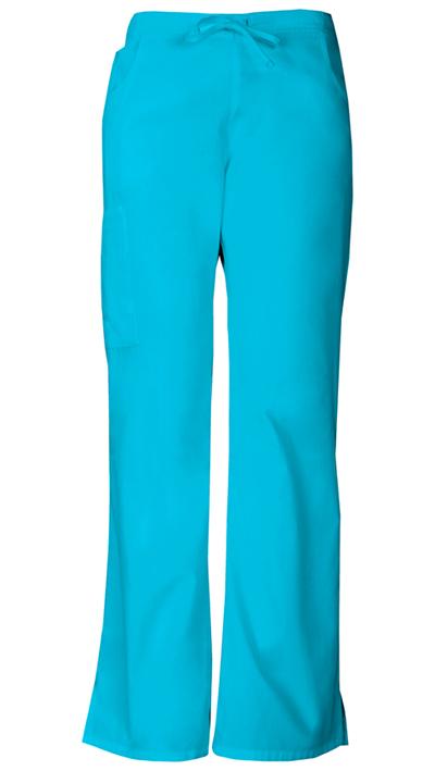 Dickies EDS Signature Women's Mid Rise Drawstring Cargo Pant Blue