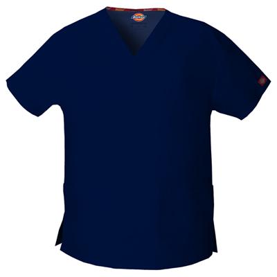 Dickies EDS Signature Women's V-Neck Top Blue