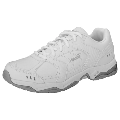 Medical Footwear Women's Slip Resistant Athletic White
