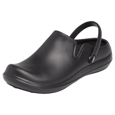 Anywear Unisex Plastic Clog Black