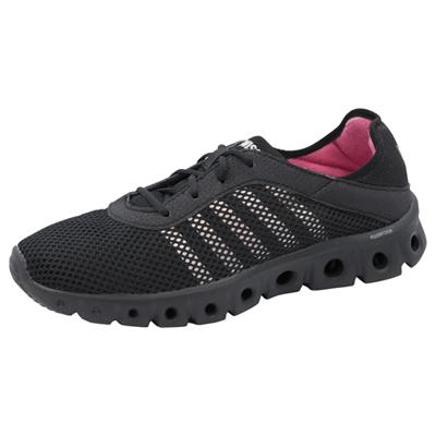 K-Swiss Women's Ahtleisure Footwear Black/RoseGold/HotPink